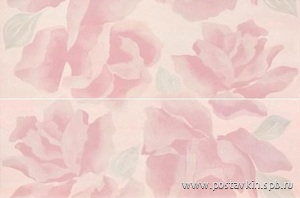 плитка Poeme Decor Fleurs Rose (2PZ)