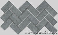 плитка Burlington Grey Mosaico 5x10