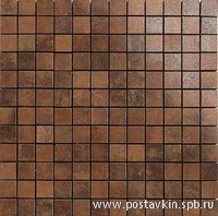 плитка Metal Copper Mosaico 2,5x2,5