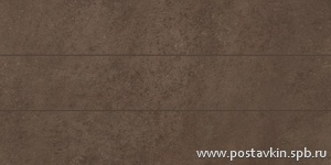 плитка Microcement Brown Preincision 10x60