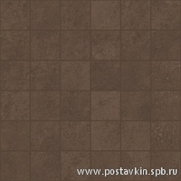 плитка Microcement Brown Mosaico 5x5