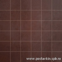 плитка Microcement Red Mosaico 5x5