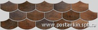 плитка Nanocorten Copper Mosaico Flake