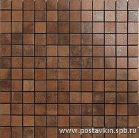плитка Nanocorten Copper Mosaico 2,5x2,5
