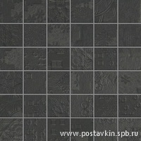 плитка Rendering Black Mosaico Decor