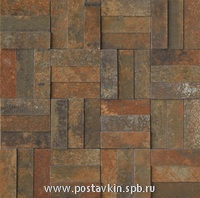 плитка Xtreme Copper Mosaico Brick