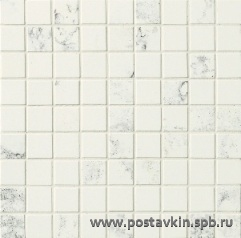 плитка Innovative Slabs MOSL382 Mosaico Bianco