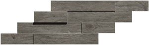 плитка Axi Brick 3d Grey Timber
