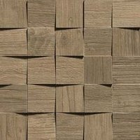 плитка Axi Mosaico 3d Brown Chestnut