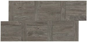 плитка Axi Treccia Grey Timber