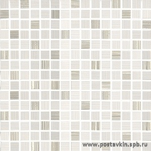 плитка 1000Tracce 301025 Mosaico Millle Bianco