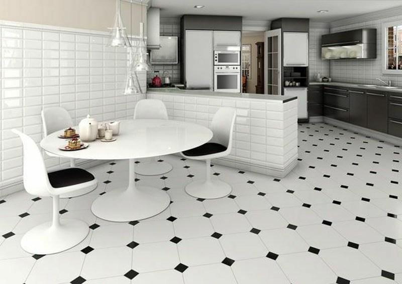 Плитка напольная кухня дизайн