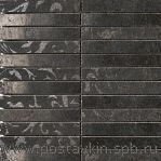 плитка Fashion Mosaico Black Su Rete