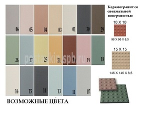 плитка Textured Surfaces Round Studs