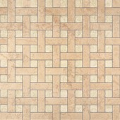 плитка Palace Rivestimenti 0008760 Mosaico Chesterfield Beige Almond