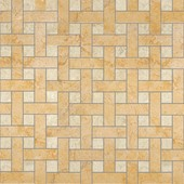 плитка Palace Rivestimenti 0008762 Mosaico Chesterfield Oro Almond