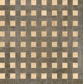 плитка Palace Rivestimenti 0008765 Mosaico Chesterfield Nero Beige