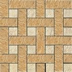 плитка Palace Living Gold 118031 Mosaici Chesterfield Oro Almond