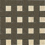 плитка Palace Living Gold 118033 Mosaici Chesterfield Nero Almond