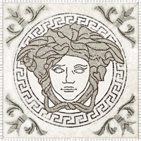 плитка Palace Living Gold 118445 Rosoni Medusa White