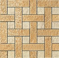 плитка Palace Stone 114341 Mosaici Chesterfield Oro Almond
