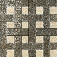 плитка Palace Stone 114343 Mosaici Chesterfield Nero Almond