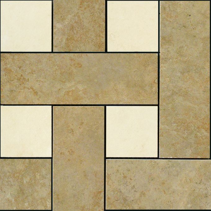 Pavimenti 36404 Mosaici Chesterfield Noce Beige
